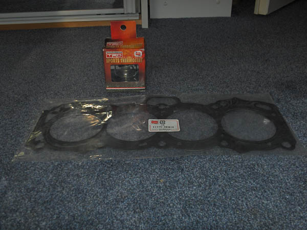 New TRD headgasket and thermostat