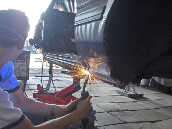 Me trying to weld