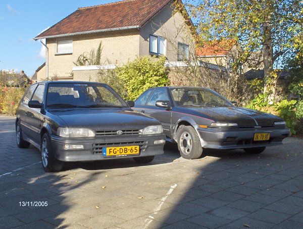 Toyota Corolla AE92 coupé and hatchback
