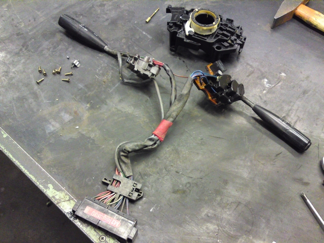 wiper stalk assembly