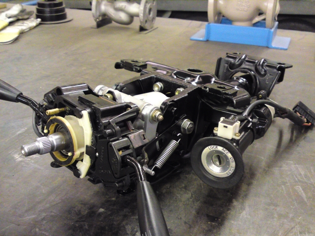 Refurbished steering column