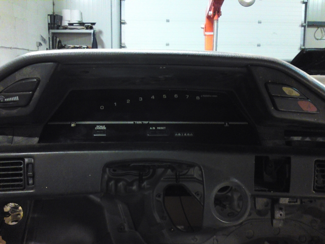 Test fitting digidash