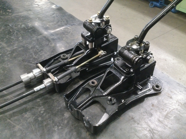 Old and new shifter assemblies