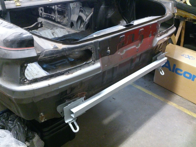 Rear support welded