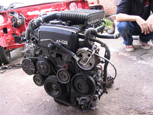 The Toyota 4A-GZE engine