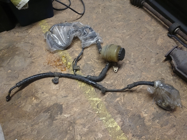 AE92 GT-Z power steering lines
