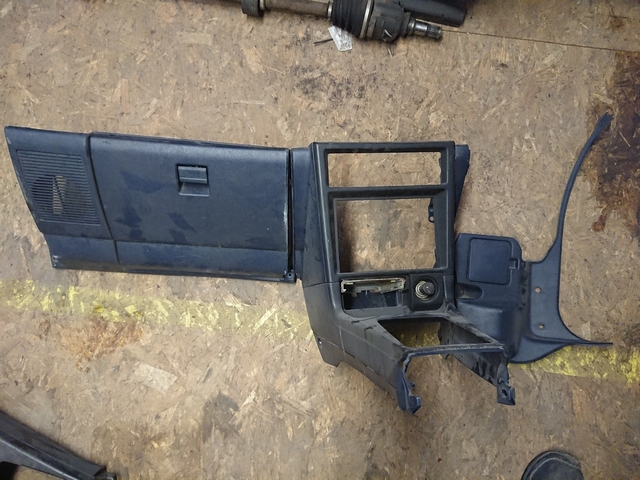 AE92 RHD lower dash parts blue