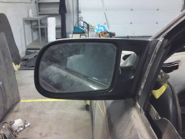 AE92 USDM door mirrors rear