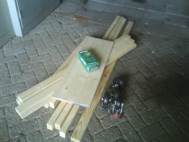Materials for the dolly