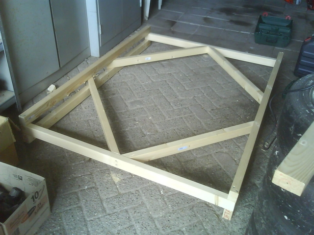 Frame of the dolly
