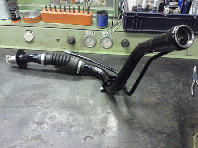 Refurbished fuel filler neck