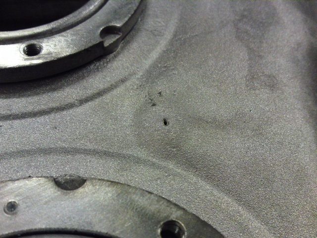 holes in fuel tank