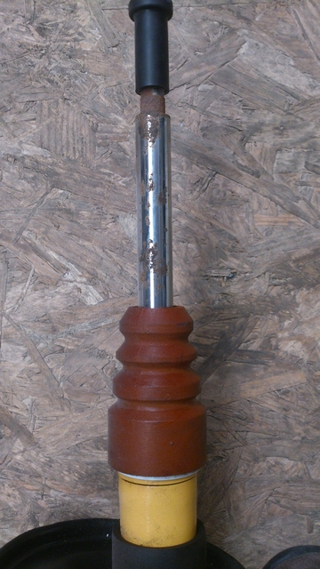 Rust on KONI shock